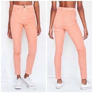 BDG High Waist Coral Girlfriend Jeans Size 30